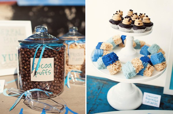 Surf Party Dessert Station and Cereal Bar - Cocoa Puffs