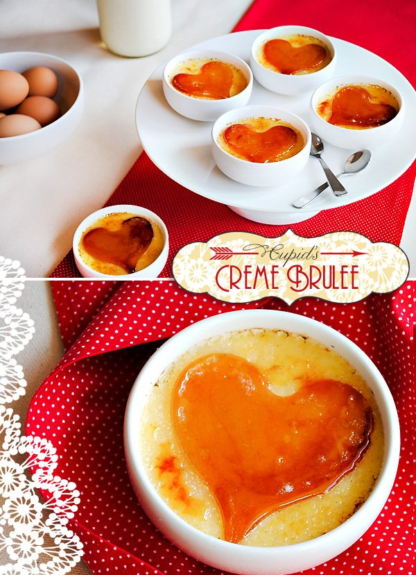 Valentine's Day Dessert Recipe - Creme Brulee