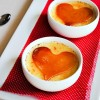 heart shaped creme brulee recipe