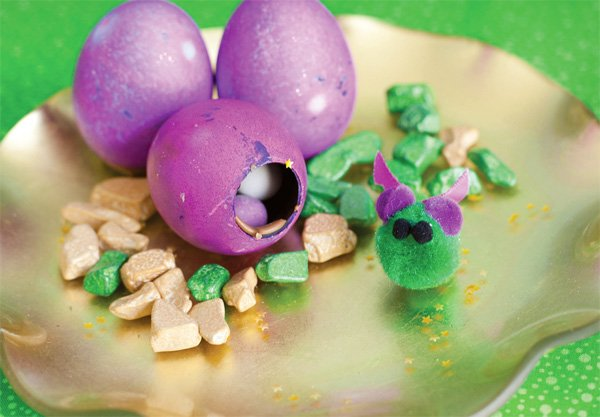 puff the magic dragon birthday party dragon eggs