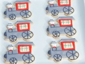 """The Little Engine that Could"" Custom Sugar Cookies"