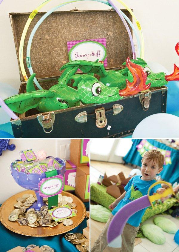 puff the magic dragon birthday party fancy stuff and dragon eggs