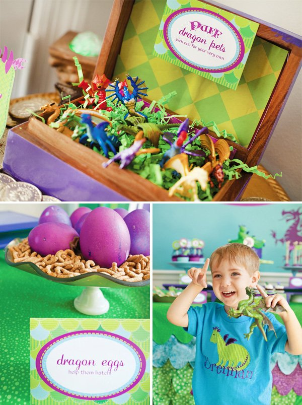 puff the magic dragon birthday party dragon eggs and dragon pets