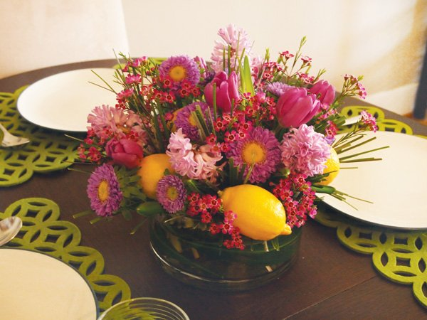 Floral easter centerpiece diy tutorial hostess with