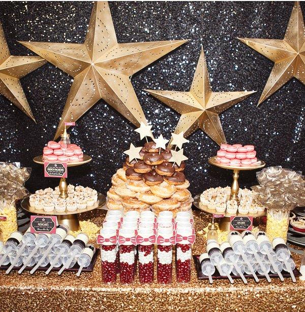 a star is born sweets table sneek peak