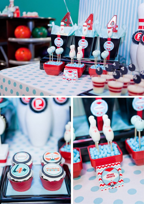 Retro Bowling Party With A Modern Twist Hostess With