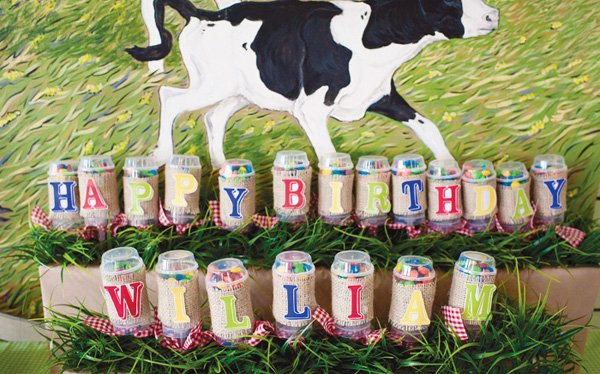 cho cho farm animal birthday party push cakes
