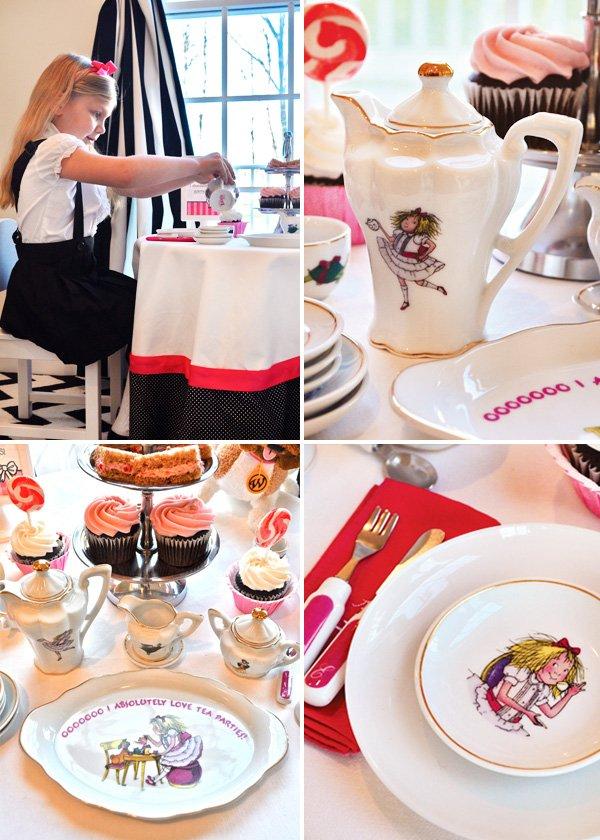 Eloise themed tea party