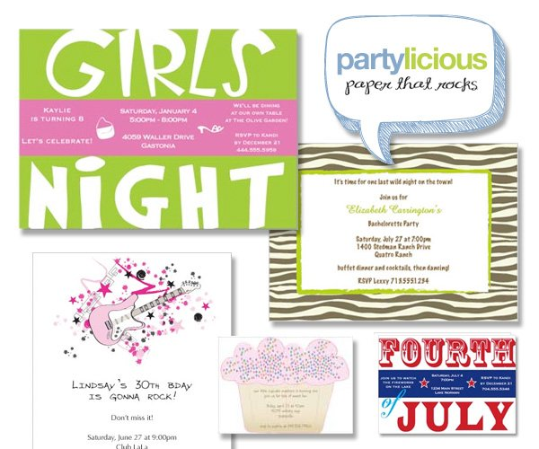 Paperlicious Custom Invitations and Stationery