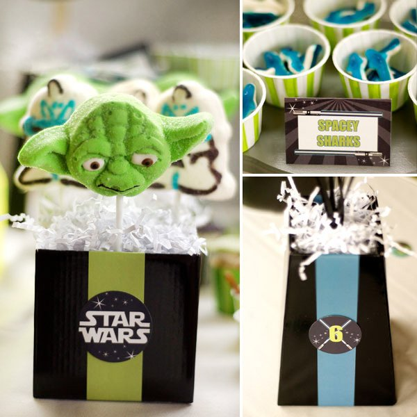 star wars yoda cakepops and candy