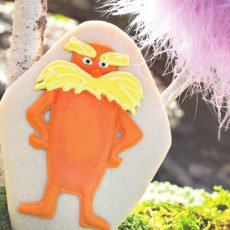 dr. suess lorax sugar cookies