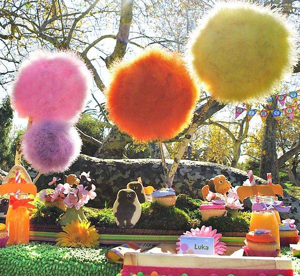 Amazing Lorax Party + DIY Truffula Trees // Hostess with ...