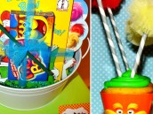 The Lorax Cupcakes and Dr. Seuss Party Favor kits