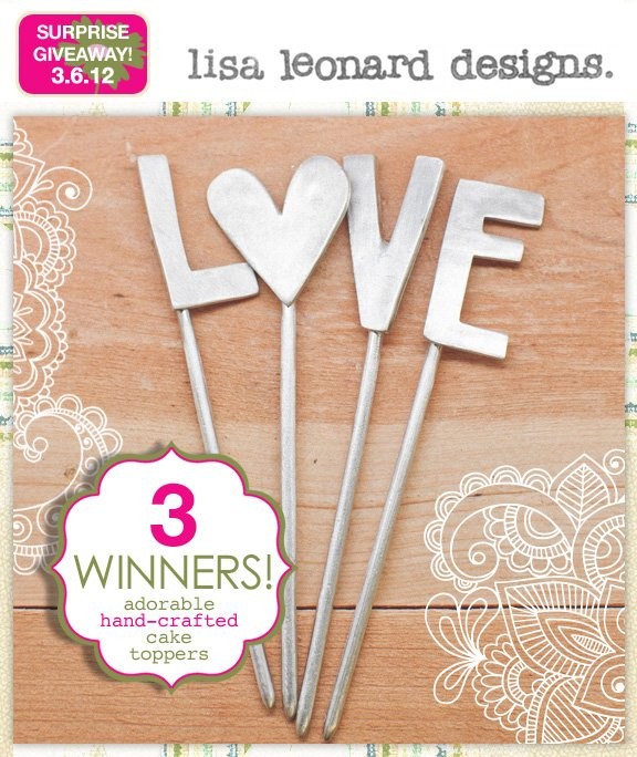 pewter love wedding cake topper