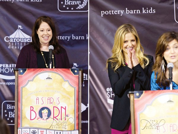 operation shower pottery barn kids crib giveaway with host sarah michelle gellar