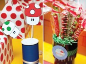 super mario party decorations and party favors