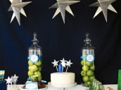 toy story space party dessert table