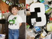 trash truck birthday party ideas