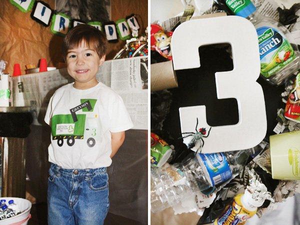 trash truck birthday party ideas