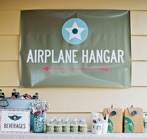 Vintage Airplane Birthday Party