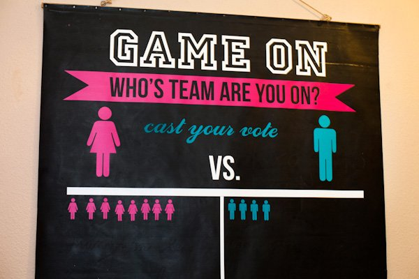 Boy Vs Girl Games Party : Girl vs. Boy Gender Reveal Party // Hostess with the Mostess?