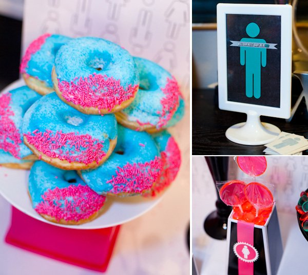 Boy Vs Girl Games Party : All the food was done in shades of pink or teal blue. I just had your ...