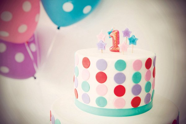 Pink Elmo Birthday Party Cake