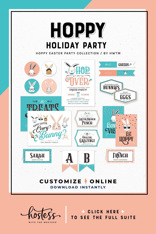 Hoppy Easter Holiday Printables