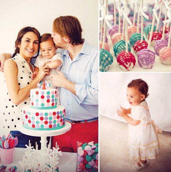 pink elmo birthday party cake pops