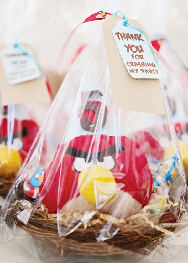angry birds party favors