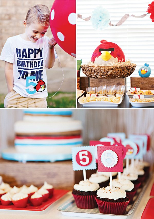 angry birds party snacks