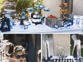 Breakfast at Tiffany's Birthday Party dessert table