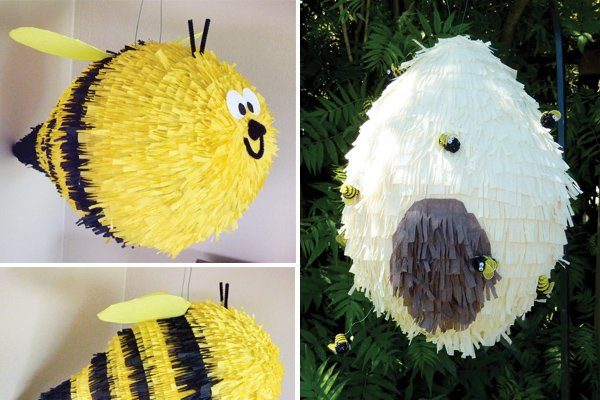 bumble bee pinata