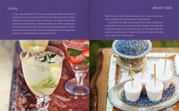 celebraTORI spread - drinks