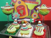cinco de mayo marshmallow cupcake toppers DIY tutorial