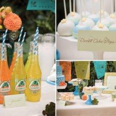 cinco de mayo sweets table cake pops