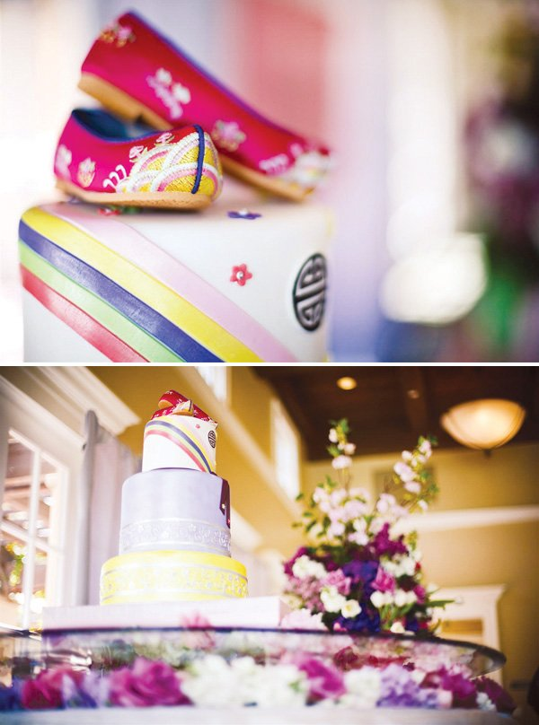 Beautiful Korean Dol First Birthday Cake