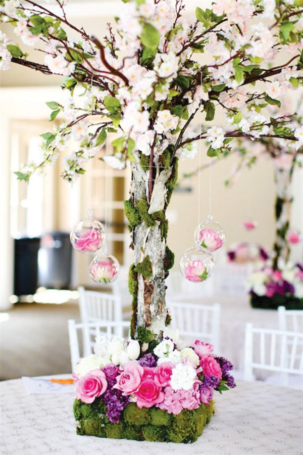 Landscaping Centerpiece Trees Sera S Gorgeous Korean First Birthday Party Dol