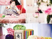 Korean Dol Birthday Party Decorations