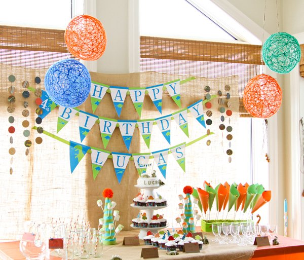 dino birthday party ideas including dessert table diy