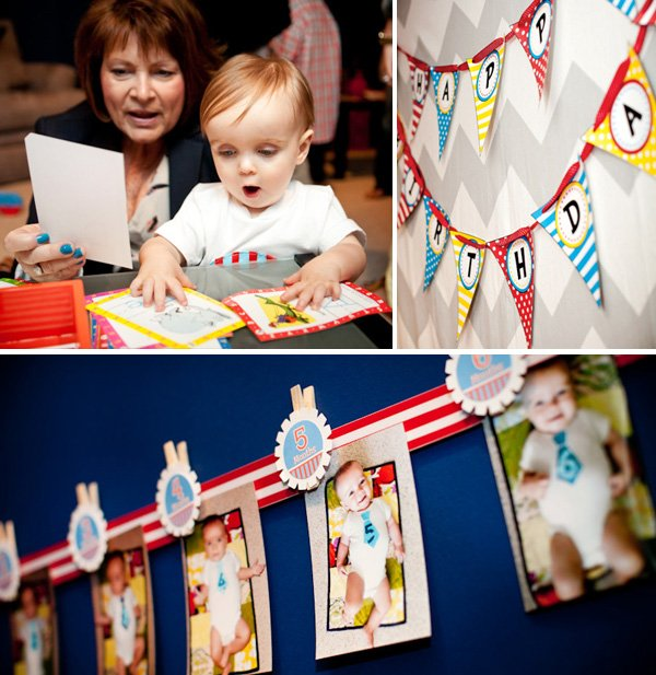seuss birthday party bunting