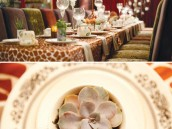eclectic teacup baby shower table settings