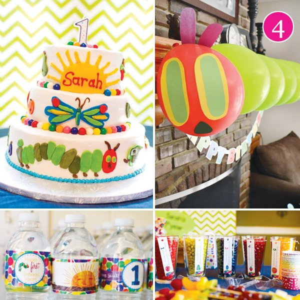 hungry caterpillar first birthday party