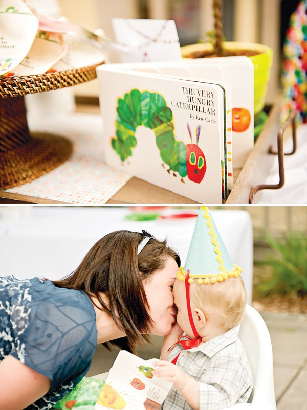 hungry caterpillar birthday party based on the book