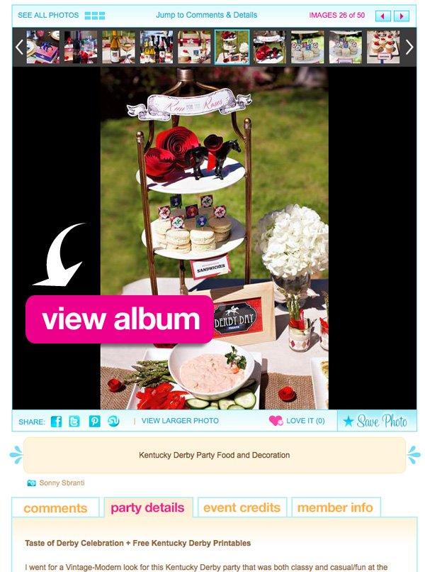 kentucky derby party album