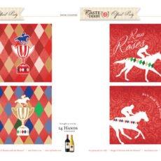 kentucky derby printables coasters
