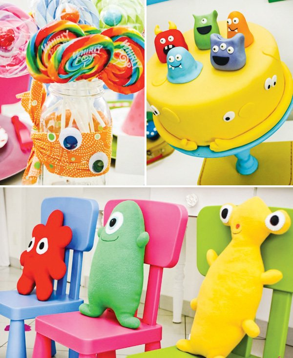 little monster party ikea chairs