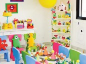 little monster party room