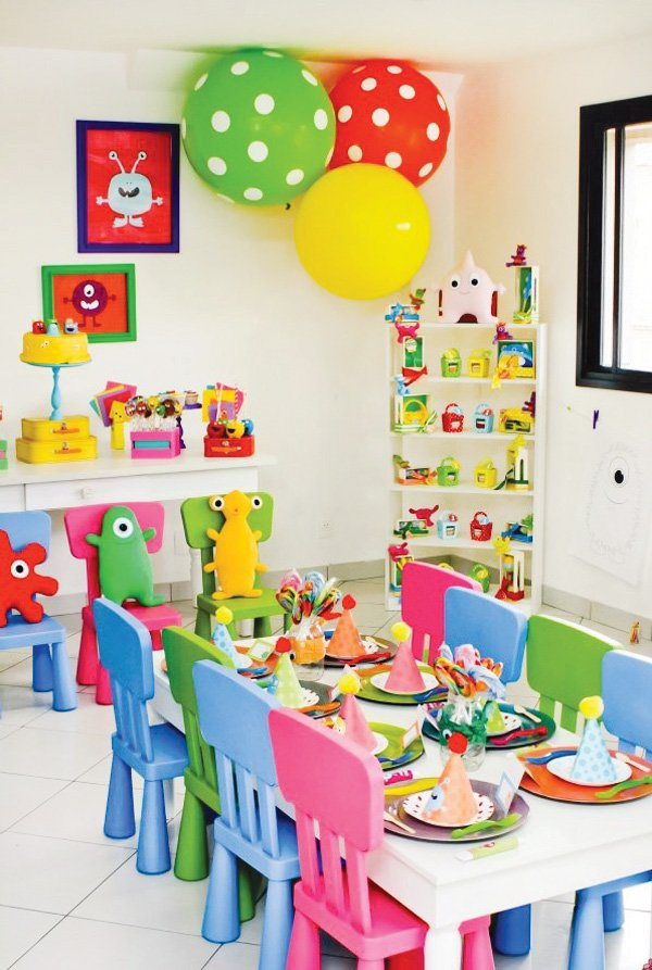 little monster party room