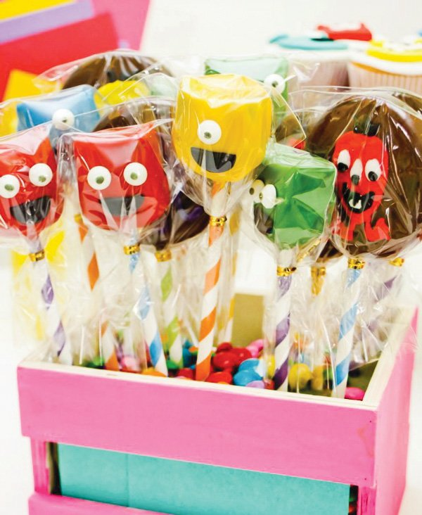 little monster party sweets